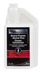 S.C. Johnson Professional Step 4 General Purpose Neutral Floor Cleaner - 128 oz.