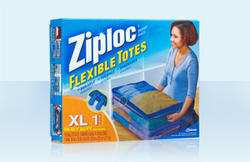 Ziploc XL Flexible Totes - 10-gal. Capacity