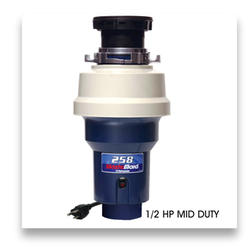 Waste Maid #258 ½ HP Mid-Duty Food Waste Disposer with Bio-Shield