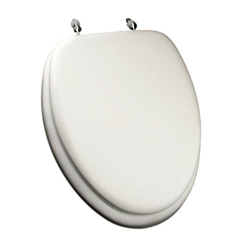 Comfort Seat Deluxe Elongated Soft Seat Toilet Seat At