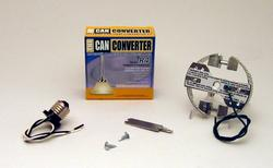 """The Can Converter R4 4"""" Recessed Can Light Conversion Kit"""
