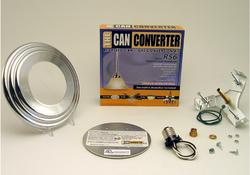 "The Can Converter R56 5""/6"" Polished Chrome Recessed Can Light Conversion Kit"