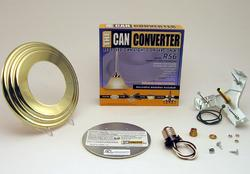 "The Can Converter R56 5""/6"" Polished Brass Recessed Can Light Conversion Kit"