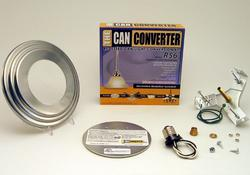 "The Can Converter R56 5""/6"" Satin Nickel Recessed Can Light Conversion Kit"