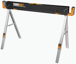 ToughBuilt™ Folding Metal Sawhorse and Jobsite table