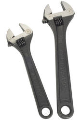Masterforce® 2 Piece Adjustable Wrench Set