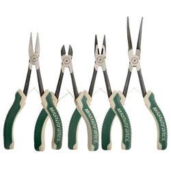 Masterforce® 4 Piece Mini Long Reach Pliers Set