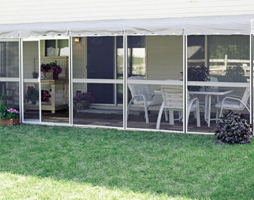 "Patio-Mate Screened Enclosure 8' 6"" X 25' 7"" With Two"