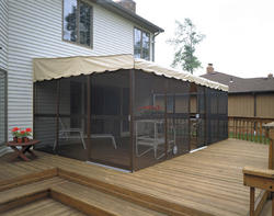 Patio Mate Screened Enclosure 11 6 Quot X 19 3 Quot With Two