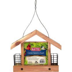 KAYTEE® Cedar Seed and Suet Feeder