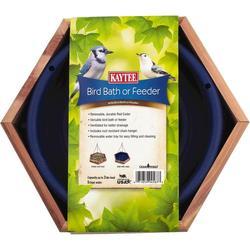 KAYTEE® Cedar Bird Bath or Feeder
