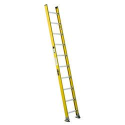 5310-1  10' Type IAA  Fiberglass Round Rung Straight Ladder