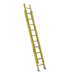 5320K  20' Type IAA  Fiberglass Round Rung Extension Ladder
