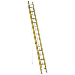 5332K  32' Type IAA  Fiberglass Round Rung Extension Ladder