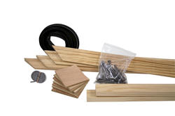 Attic Ladder Installation & Trim Kit