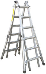 26' Aluminum Telescoping Ladder Type IA
