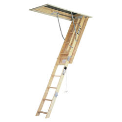 8' Wood Attic Ladder