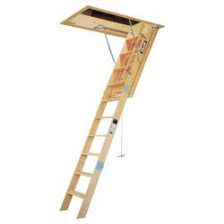 """8' Heavy Duty Wood 22"""" Attic  Ladder"""
