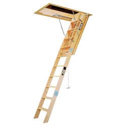 """10' Heavy Duty Wood 22"""" Attic Ladder"""