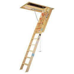 """10' Heavy Duty Wood 25"""" Attic Ladder"""