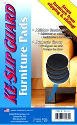 "KE Slip Guard™ Furniture Pads 4"" Round"