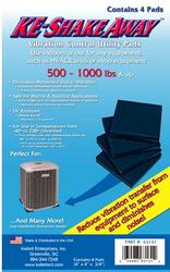 KE Shake Away™ Utility Pads Weight up to 500-1000 lbs.