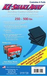 KE Shake Away™ Utility Pads Weight up to 250-500 lbs.
