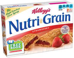 Kellogg's Nutri-Grain Strawberry Cereal Bars - 8 ct. / 10.4 oz.