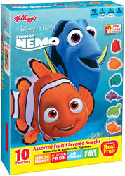 Kellogg's Disney Finding Nemo Fruit Flavored Snacks - 10 ct. / 8 oz.