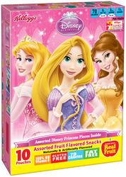 Kellogg's Disney Princess Fruit Flavored Snacks - 10 ct. / 8 oz.