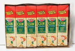 Keebler Club and Cheddar Sandwich Crackers - 21.6 oz.