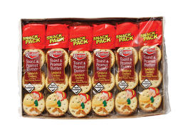 Keebler Toast and Peanut Butter Sandwich Crackers - 21.6 oz.