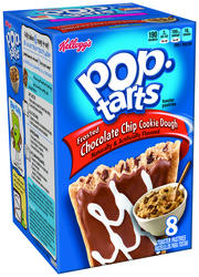 Kellogg's Pop-Tarts Frosted Chocolate Chip Cookie Dough Toaster Pastries - 8 ct. / 14.7 oz.