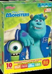Kellogg's Disney Monsters Fruit-Flavored Snacks - 10 ct. / 8 oz.