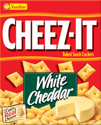 Cheez-It White Cheddar Crackers - 7 oz.
