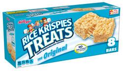 Kellogg's Rice Krispies Original Marshmallow Squares - 8 ct. / 6.2 oz.