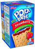 Kellogg's Pop-Tarts Unfrosted Strawberry Toaster Pastries - 8 ct. / 14.7 oz.