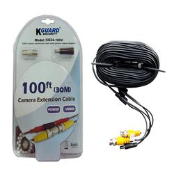KGUARD 100' Camera Extension Cable