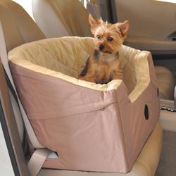 Bucket Booster Small Tan Pet Seat