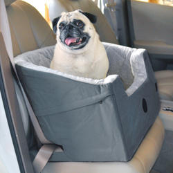 Bucket Booster Small Gray Pet Seat