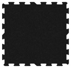 "Tuff-Lock Interlocking Rubber Tiles 23"" x 23"""