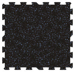 "Tuff-Lock Interlocking Rubber Tiles 23"" x 23"""