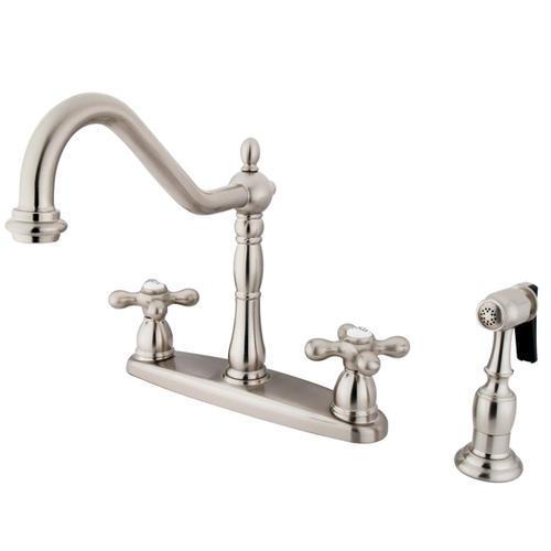 kingston brass heritage kitchen faucet at menards 174