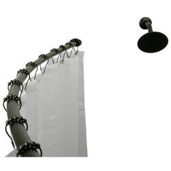 Kingston Brass Curved Shower Rod