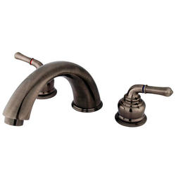Kingston Brass Magellan 2-Handle Roman Tub Filler