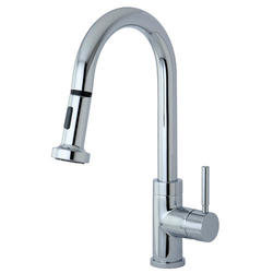 Kingston Brass Concord Single Handle Faucet with Pull Down Spout