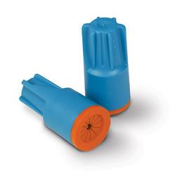 Aqua/Orange Waterproof Connector (6/Card)