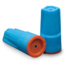 Aqua/Orange Waterproof Connector (25/Bag)