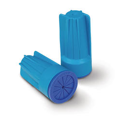 Aqua/Blue Waterproof Connector (3/Card)