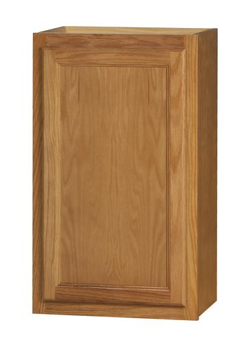 Kitchen kompact chadwood 18 x 30 oak wall cabinet at for Kitchen cabinets 30 x 18